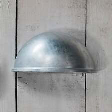 Garden Trading St Ives Eye Light Exterior Wall Light - Galvanised