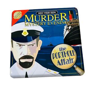 Murder Mystery Game The Porthole Affair
