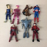 Assorted Action Figure Lot Various Kenner Hasbro Captain America EUC AR166