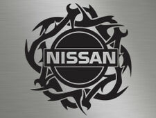 Nissan JDM Tribal Skyline Almera Micra vinyl decal sticker window vivaro day van