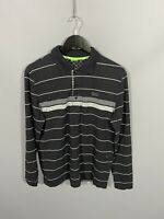 HUGO BOSS Long Sleeve Polo Shirt - Large - Slim Fit - Great Condition - Men's