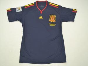 Spain 2010 Away ESPAÑA Final WORLD CUP PIQUE RAMOS XAVI Retro Football Jersey