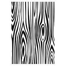 Efco Embossing Folder Holzmaserung Wood Grain Prägeschablone 4254026
