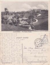 Egypt 1916 BNY or  FPO C12 Palestine Beershba to England