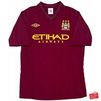 Authentic Umbro Manchester City 2012/13 Away Jersey. Size L, Excellent Cond.