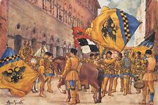 5565) CONTRADE DI SIENA, COMPARSA DELL'AQUILA.