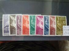 Spanish Sahara 1961 Birds set of 9, hinged mint