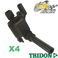 TRIDON IGNITION COIL x4 FOR Jeep  Grand Cherokee WH 06/05-06/10, V8, 5.7L EZO