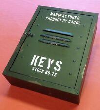 RETRO VINTAGE Schlüsselkasten Schlüsselschrank mit VERSCHLUSS             144222