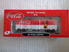 COCA COLA ATHEARN 1/87 SCALE 40' STEEL REEFER CAR #5 OF 6