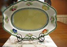 Villeroy Boch French Garden Fleurence Platter Porcelain Faience + Piemont Estivo
