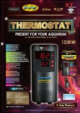 ST International AQUARIUM HEATER THERMOSTAT MicroChip Auto Alert Alarm