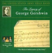 Us Army Field Band; Marcus ...-Legacy Of George Gershwin CD NEW