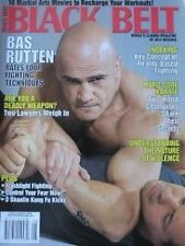 RARE 8/07 BLACK BELT MAGAZINE BAS RUTTEN KARATE KUNG FU MARTIAL ARTS