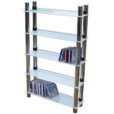 5 Tier DVD Blu-ray / CD / Media Storage Shelves MS2415