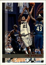 1997 Topps Tim Duncan #115 Basketball Card