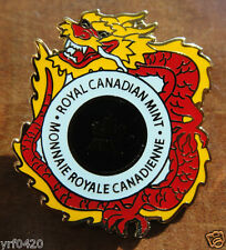 Royal Canadian Mint Pin for Beijing International Coin Expo. 2011