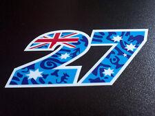 27 CASEY STONER adesivo stickers adesivi