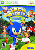 Sega Superstars Tennis (Microsoft Xbox 360, 2008)  COMPLETE  FAST SHIPPING