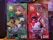 2018 SDCC SH Figuarts RED/GREEN RANGER POWER RANGERS Event Exclusive Bandai