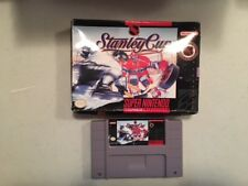 STANLEY CUP BOXED SNES SUPER NINTENDO GAME TESTED & WORKING