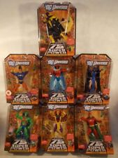 DCU Classics Validus Build A Figure Set Omac Raven Sinestro Batman Starman