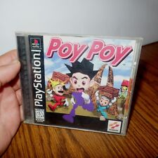 Poy Poy PlayStation Complete PS1 PSone Sony Ultra Rare 1997 +FREE ship