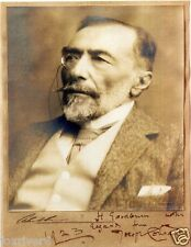 JOSEPH CONRAD Signed Photograph - Author / Writer / Literature - preprint