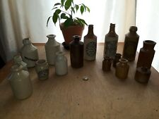 Vintage mixed Clay Bottles an pots job lot 15 in total