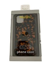 Heyday iPhone 11 Pro Max Hard Shell Phone Case w/ Rubber Bumper - Tortoise New