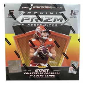 San Francisco 49ers - 2021 Prizm Draft Picks Orange Cracked Ice Mega Box - UK