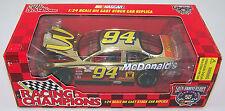 1998 Racing Champions GOLD 1:24 BILL ELLIOTT #94 McDonald's HO Ford Taurus
