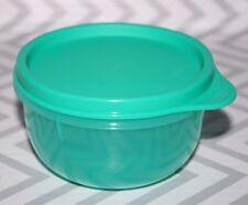 Tupperware Ideal Snack Bowl 8oz. Container Aqua Green New!!!