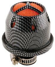 Sumex Universal Kit De Inducción Pequeño Coche Mini Filtro De Aire + Adaptadores-Gris Carbón