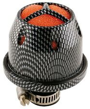 Sumex Universal Small Mini Car Induction Kit Air Filter + Adaptors - Grey Carbon
