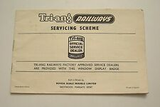 Original Triang Model Railway Official Service Dealer List Global 1971 VGC