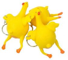 Yellow  Spoof vent Chicken Pet Dog Toy Under strange hens WR