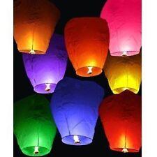 10 PCS HOT AIR BALLOON,SKY LANTERN LAMP,PAPPER KANDIL- INTERNATIONAL QUALITY