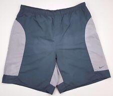 Nike Pantalones Cortos de Baño Hombres XL Multicolor Color Contraste Green Size