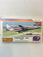 Pegaso Necomisa Convair 880 TWA 1:190 Sealed Parts Bag No Diorama