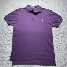 Polo Ralph Lauren Polo Shirt Adult Small Purple Classic Fit Short Sleeve D3