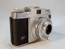 Agfa Silette Vintage 35mm camera w/ Apotar  2:8/45mm Lens  Made in Germany