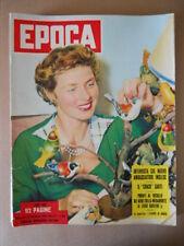 EPOCA n°169 1953 Ingrid Bergman - Giulio Cesare di Marlon Brando [G774]