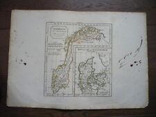 GRANDE NORWEGE  DANEMARK  VAUGONDY 1806