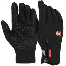 Winter Thermal Warm Windproof Touchscreen Sport Bicycle Ski Mens Outdoor Gloves
