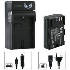 SK Akku für Canon LP-E6 1400mAh + Ladegerät LP-E6N | 1065164-90263-90329