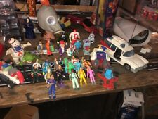 Huge Lot  The Real Ghostbusters Vintage 1980s Action Figures Ecto 1