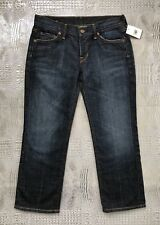 Citizens Of Humanity Kelly #063 Low Waist Cropped Jeans Stretch Denim Size 26