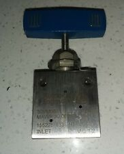 """Autoclave Engineers 30,000 Psi Stainless Steel Needle Valve 30Vm6071 316Ss 3/8"""""""