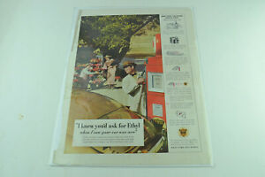 Ethyl Gasoline Full Page Print Ad 467